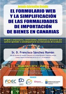 AUTODESPACHO DUA FDEC - CIE Puerto de La Cruz