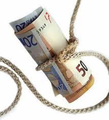 dinero amarrado euros