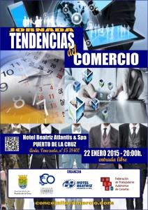 JORNADA TENDENCIAS PUERTO DE LA CRUZ 22ENE2015 - CARTEL