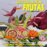 CARTEL CURSO DECORACION FRUTAS 02