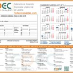 Calendario Laboral FDEC - GRAN CANARIA 2019