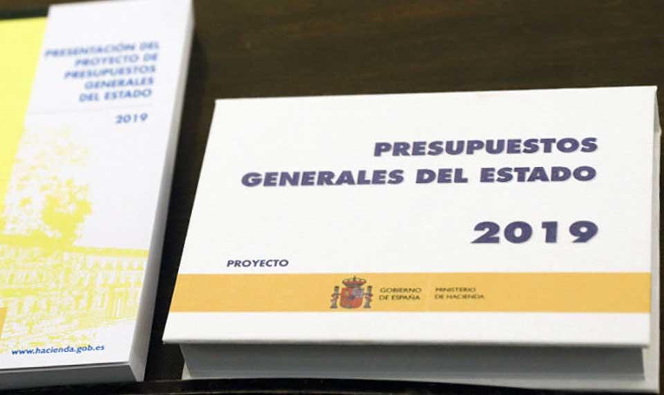 Presupuestos Generales del Estado 2019